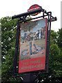TR0560 : The Three Horseshoes sign by Oast House Archive