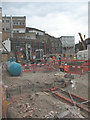 TQ3280 : Foundations for the Thameslink viaduct (2) by Stephen Craven