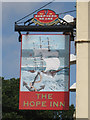 TR3544 : The Hope Inn sign by Oast House Archive