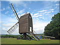 TQ4529 : Nutley Windmill by Oast House Archive