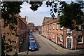 SJ4066 : Albion Street from Chester's ancient walls : Week 30