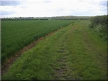 TL0668 : Footpath to Hardwick by Shaun Ferguson