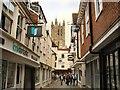 TR1557 : Mercery Lane - Canterbury by Paul Gillett