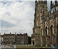 TR1557 : Canterbury Cathedral & surrounds by Paul Gillett