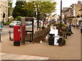 ST6654 : Midsomer Norton: postbox № BA3 264, High Street by Chris Downer