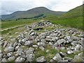 NN8232 : Clach na Tiompan chambered cairn by M J Richardson