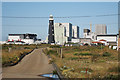 TR0816 : Dungeness Power Station & Old Lighthouse by Oast House Archive