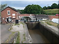 SJ5759 : Bunbury Locks by Eirian Evans