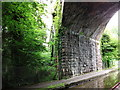 SJ3970 : Detail of Bridge No.132, Shropshire Union Canal by John Brightley