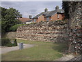 TL9925 : Part of Roman Wall near Balkerne Hill, Colchester by PAUL FARMER