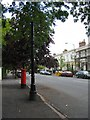 SP3265 : Street furniture in Leam Terrace by E Gammie
