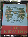 TQ9163 : The New Inn Pub Sign by David Anstiss