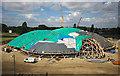 SE8910 : Pods building site, Scunthorpe, August 2010 : Week 32