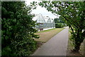 TQ0622 : Glasshouses at Brinsbury by Graham Horn