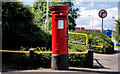 J3475 : Pillar box, Belfast by Albert Bridge