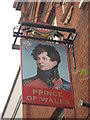 TQ3178 : Prince of Wales, Pub Sign by David Anstiss