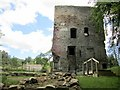 NY9763 : Dilston Castle and remains of Dilston Hall by Andrew Curtis