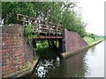SO9791 : Towpath bridge over former entrance to Rattlechain Brick Works basin by John Brightley