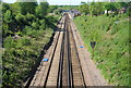 TQ6036 : The Hastings line south of Frant Station by N Chadwick