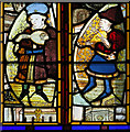 TM0695 : All Saints' church in Besthorpe - C15 Norwich School glass : Week 35