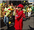 TQ2482 : Notting Hill Carnival 2010 - vuvuzela by David Hawgood