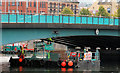 J3474 : Pontoon, Belfast by Albert Bridge