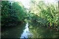 TQ5746 : River Medway from Lucifer Bridge by N Chadwick