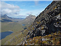 NG5220 : South ridge of Bla Bheinn : Week 35