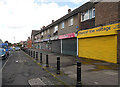 SO9982 : Shops on Wood Lane by Row17