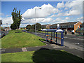 SP0082 : Bus stop on Jiggins Lane by Row17