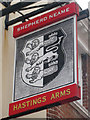 TQ8209 : Hastings Arms sign by Oast House Archive