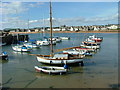 NT4999 : Boats at Elie pier : Week 35