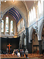 TQ2378 : St Paul's Hammersmith: interior by Stephen Craven