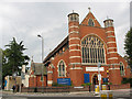 TQ2573 : St Michael's Southfields: West end by Stephen Craven