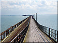 TQ8884 : Entrance path to Southend Pier by Oast House Archive