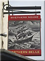 TR3571 : Northern Belle, Pub Sign, Margate by David Anstiss