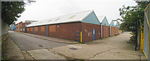 TQ7969 : Warehouses on Owens Way by Oast House Archive