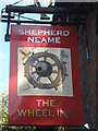 TQ9847 : The Wheel Inn, Westwell by David Anstiss