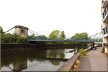 ST7464 : The Victoria Bridge over the River Avon by Steve Daniels