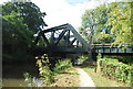 SU9947 : Railway bridge over the River Wey by N Chadwick