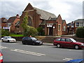 Dist:0.2km<br/>Built in the mid 1930's. Note the glazers to the left, 'Roman Glass', playing on Exeter's Roman heritage.