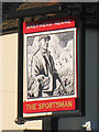 TR3463 : The Sportsman sign by Oast House Archive