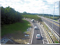 TL4161 : A428 from northbound M11 at junction 14 by John Firth
