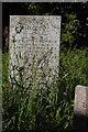 SW9942 : Gorran Churchtown: grave in parish churchyard by Christopher Hilton