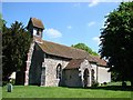 TM0554 : Battisford St Mary�s church by Adrian S Pye