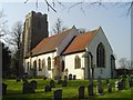 TM2460 : Brandeston All Saints church by Adrian S Pye