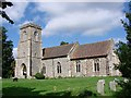 TL9654 : Brettenham St Mary�s church by Adrian S Pye