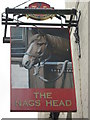 TQ8375 : The Nag's Head, Pub Sign, Lower Stoke by David Anstiss