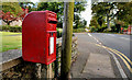 J4845 : Letter box, Downpatrick by Albert Bridge