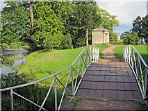 SO8744 : Bridge in Croome Park by Trevor Rickard